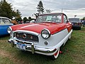 1960 Metropolitan convertible in red and white at 2019 AACA Hershey show 1of2.jpg