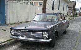 1965 Plymouth Valiant 100 black front.jpg