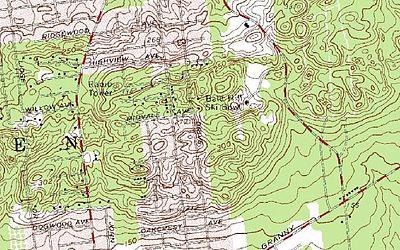 Topographic Map Long Island.Bald Hill Farmingville New York Wikipedia