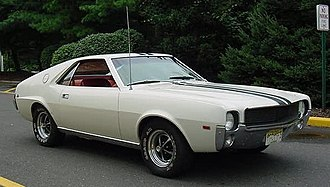 AMC AMX - 1968 AMC AMX with Go-Pac