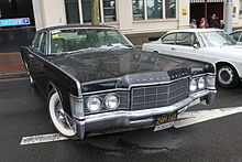 1969 lincoln continental 4 door sedan