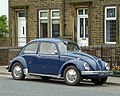 1970 Volkswagen Beetle seen in Queensbury, Bradford, West Yorkshire (20th June 2013).jpg