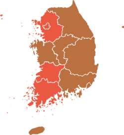 1971 South Korean elections result map.png