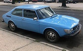 Combi coupé - Image: 1978 Saab 99 3 door (US), front right