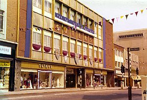 Slough - Suters Limited in Slough High Street, 1978