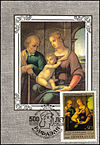 1983 USSR Maximum Card Holy Family Raphael.jpg