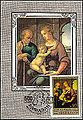 1983 USSR Maximum Card Holy Family Raphael.jpg