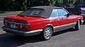 1986 Mercedes-Benz 560 SEC convertible conversion rear.jpg