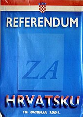Voting Rights >> Croatian independence referendum, 1991 - Wikipedia