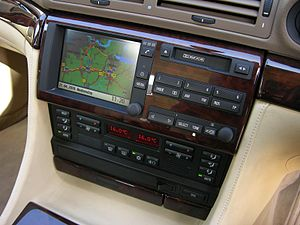 BMW 7 Series (E38) - Navigation monitor