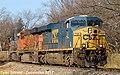 1 5 CSXT 700 Leads WB Covered Hopper Olathe, KS 12-2-17 (38782633872).jpg