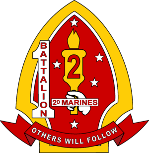 1st Battalion, 2nd Marines - 1st Battalion, 2nd Marines insignia