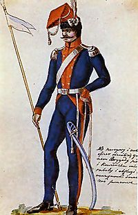 1st Brigade of Kowno of Army of Grand Duchy of Lithuania in 1792.JPG