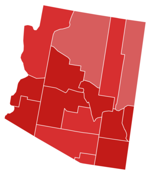 United States Senate election in Arizona, 2000 - Image: 2000 Arizona