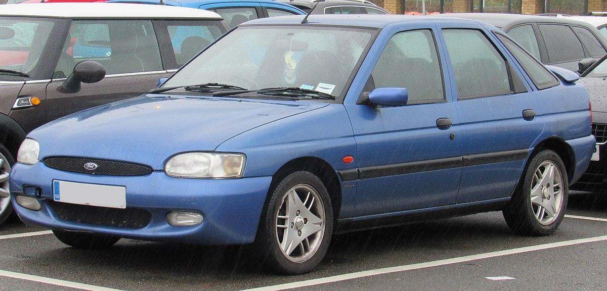 ford escort 1.6 ficha tecnica