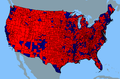 2000 election popular vote county.png
