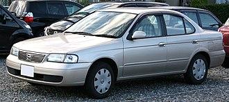 Nissan Sunny - 2002–2004 Nissan Sunny (B15)