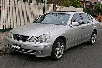 Lexus GS - 2000–2004 Lexus GS 300 (JZS160R; Australia)