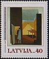 20030125 40sant Latvia Postage Stamp.jpg