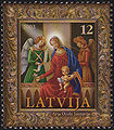 20031122 12sant Latvia Postage Stamp.jpg