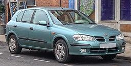 2003 Nissan Almera E 1.5 Front