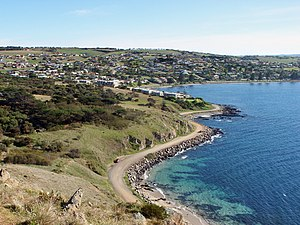 Victor Harbor, South Australia - City of Victor Harbor viewed from Rosetta Head