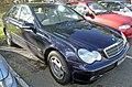 2004 Mercedes-Benz C 180 Kompressor (W 203) Classic sedan (2009-06-19).jpg