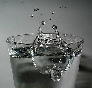 Drop (liquid) - Image: 2006 02 13 Drop impact