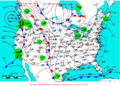 2007-02-11 Surface Weather Map NOAA.png