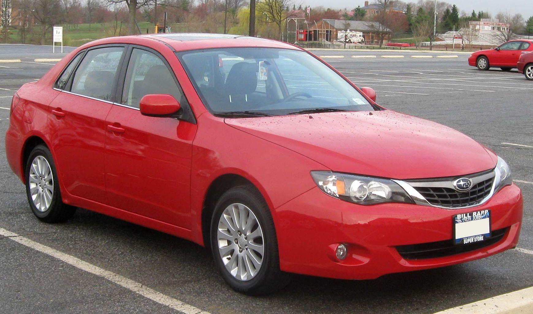 Subaru Impreza 3 седан