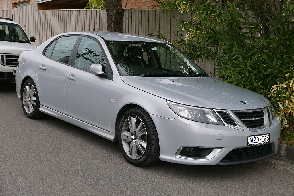 file 2009 saab 9 3 my08 aero 2 8t sedan 2015 07 09 wikipedia. Black Bedroom Furniture Sets. Home Design Ideas
