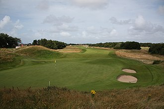 1979 Open Championship - 7th hole green in 2009