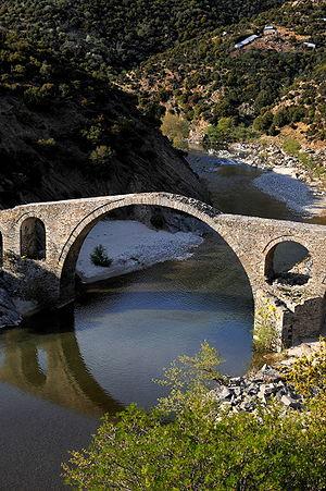 Middle-ages bridge Thrace