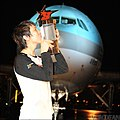 2010 Korean Air OSL S1 finals EffOrt victory trophy.JPG