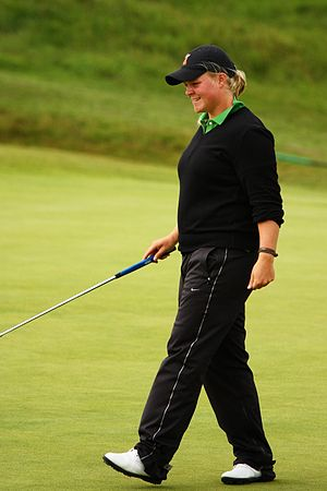 Caroline Hedwall - Hedwall at the 2010 Women's British Open