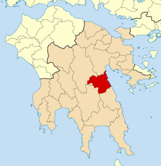 North Kynouria - Voria Kynouria municipality