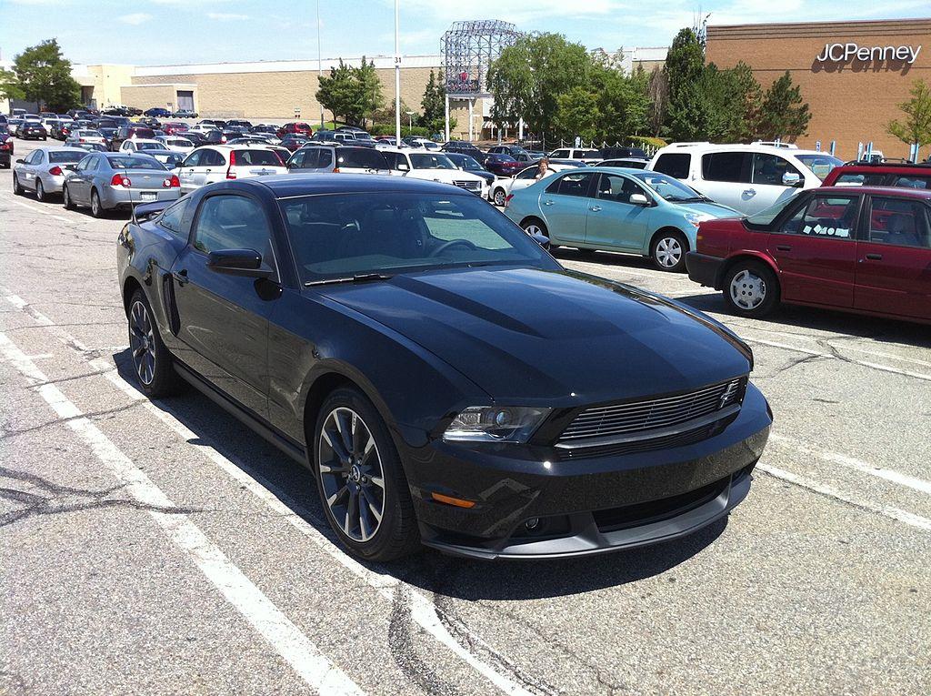 File 2011 Ford Mustang Gt Cs Black Jpg Wikimedia Commons