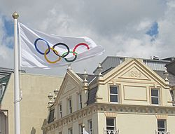 2012 Summer Olympics torch relay in Saint Helier 02.jpg