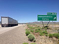 2014-06-11 12 28 46 Sign for Exit 365 along westbound Interstate 80 and northbound Alternate U.S. Route 93 in Independence Valley, Nevada.JPG
