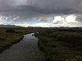 2014-08-19 13 06 33 View north down the Owyhee River south of Wild Horse Reservoir.JPG