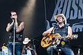 "20140801-088-See-Rock Festival 2014-The BossHoss-Alec ""Boss Burns"" Völkel and Sascha ""Hoss Power"" Vollmer.JPG"