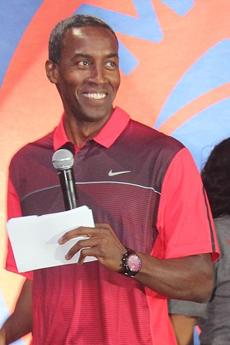 Stephen Bardo - Bardo at the 2014 World Basketball Festival