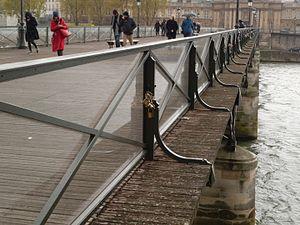 comment aller au pont des arts