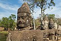 2016 Angkor, Angkor Thom, Brama południowa (19).jpg