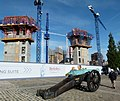 2016 London, Woolwich, Pavilion Square construction site - 4.jpg