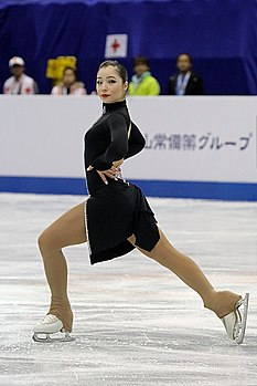 2017 World Junior Figure Skating Championships Aiza Mambekova jsfb dave9590.jpg