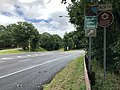 2018-07-22 11 20 17 View north at the south end of New Jersey State Route 445S (Palisades Interstate Parkway Spur) at U.S. Route 9W (Fletcher Avenue) in Fort Lee, Bergen County, New Jersey.jpg