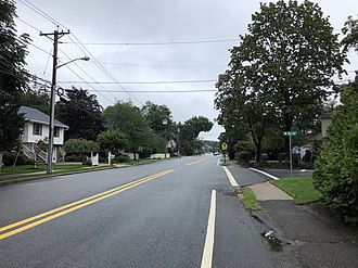 River Vale, New Jersey - County Route 53 (Rivervale Road) in River Vale