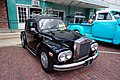2018 Draggin' Main Car Show & Cruise 04 (1969 Volkswagen Beetle Rolls-Royce Silver Wraith II kit car).jpg
