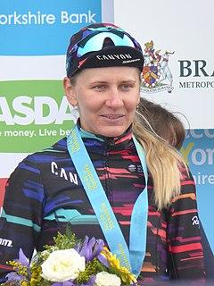 Alena Amialiusik Belarusian cyclist